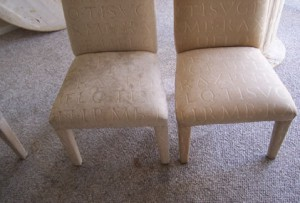 Before & After Upholstery Cleaning - Avon