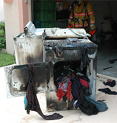 Dryer Fires - Avon Carpet Cleaning