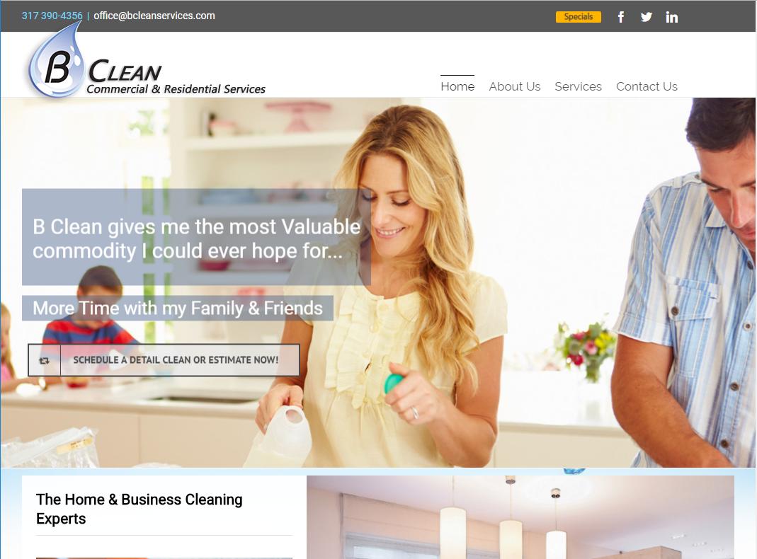 B Clean Services.com